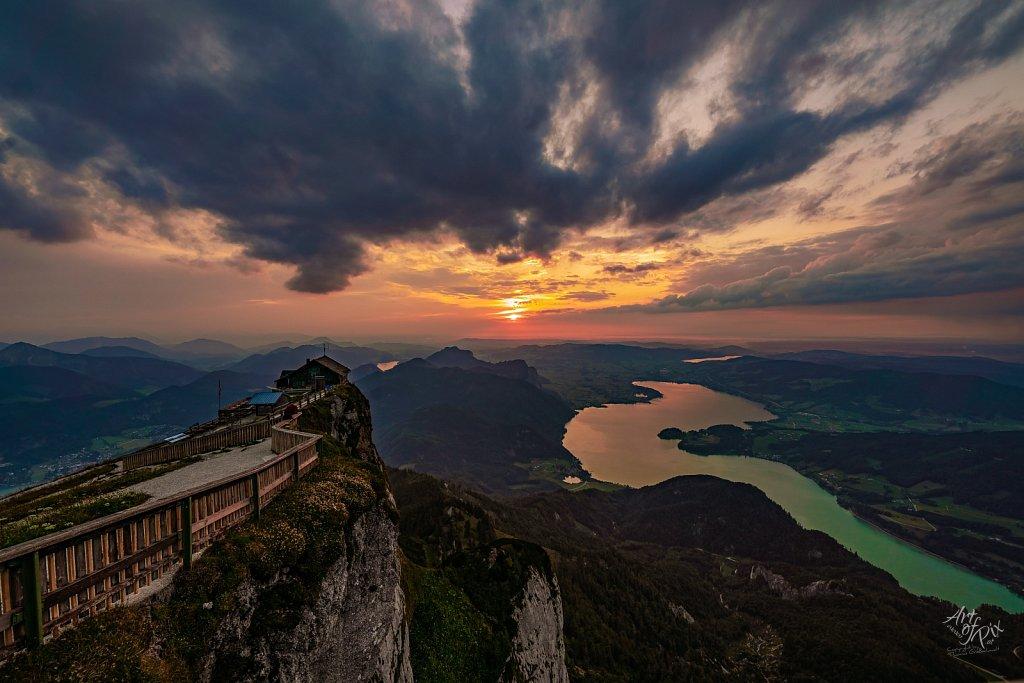 """Himmelspforte bei Sonnenuntergang"""
