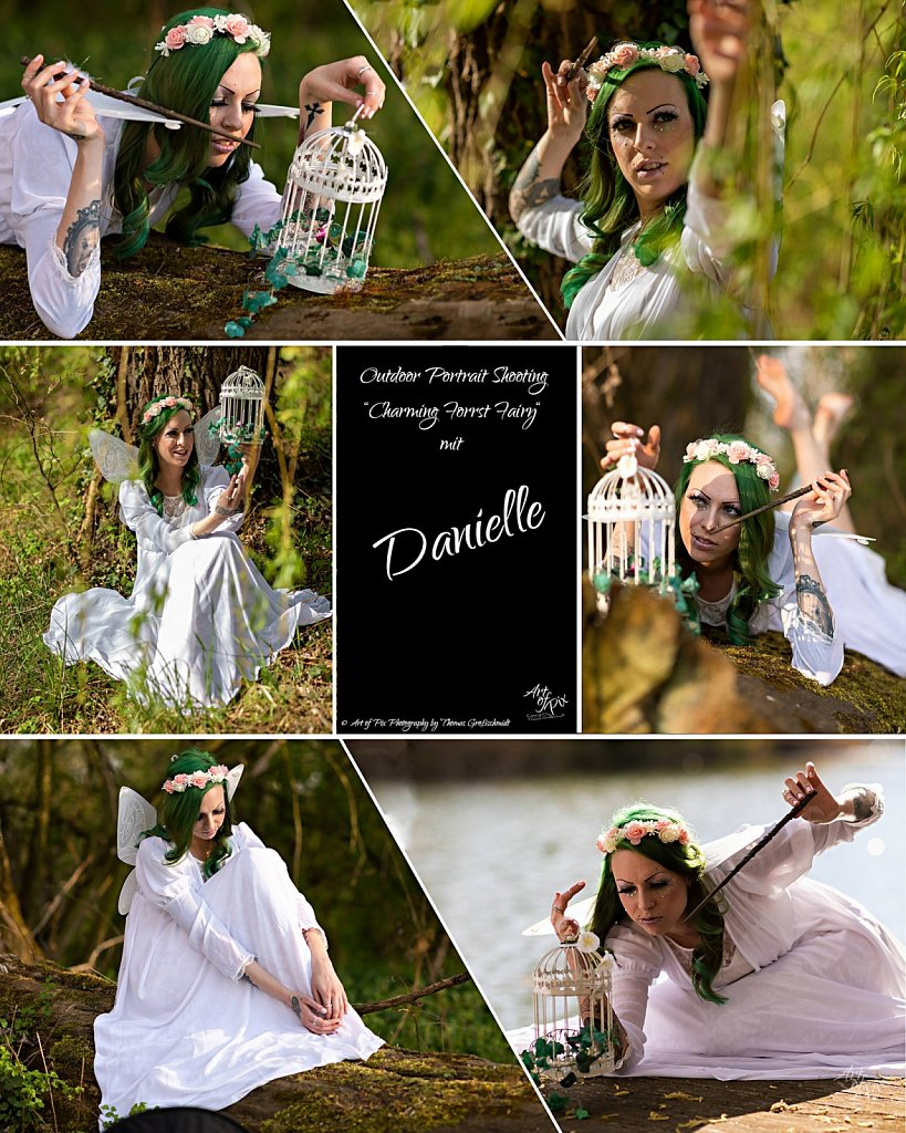 """""""Charming forest fairy"""""""