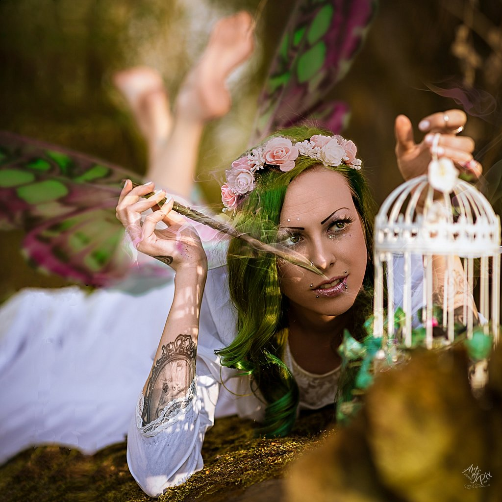 """""""Playful fairy charm"""""""
