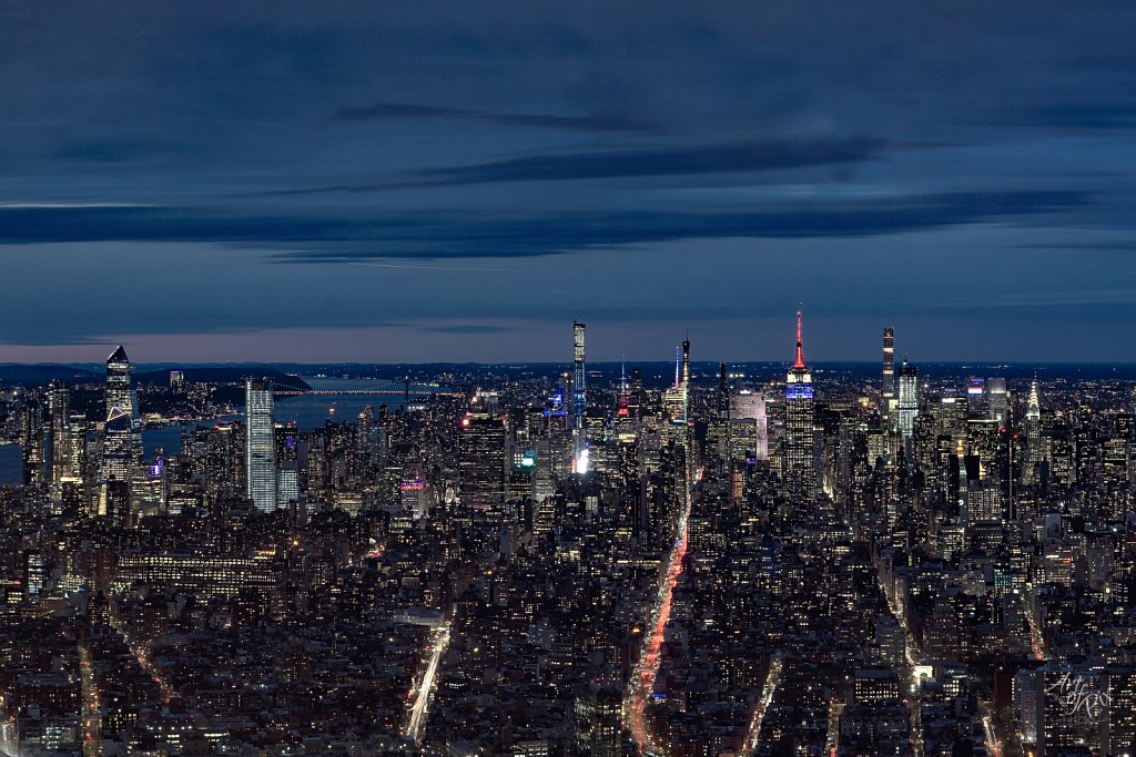 """New York Midtown Skyline"""