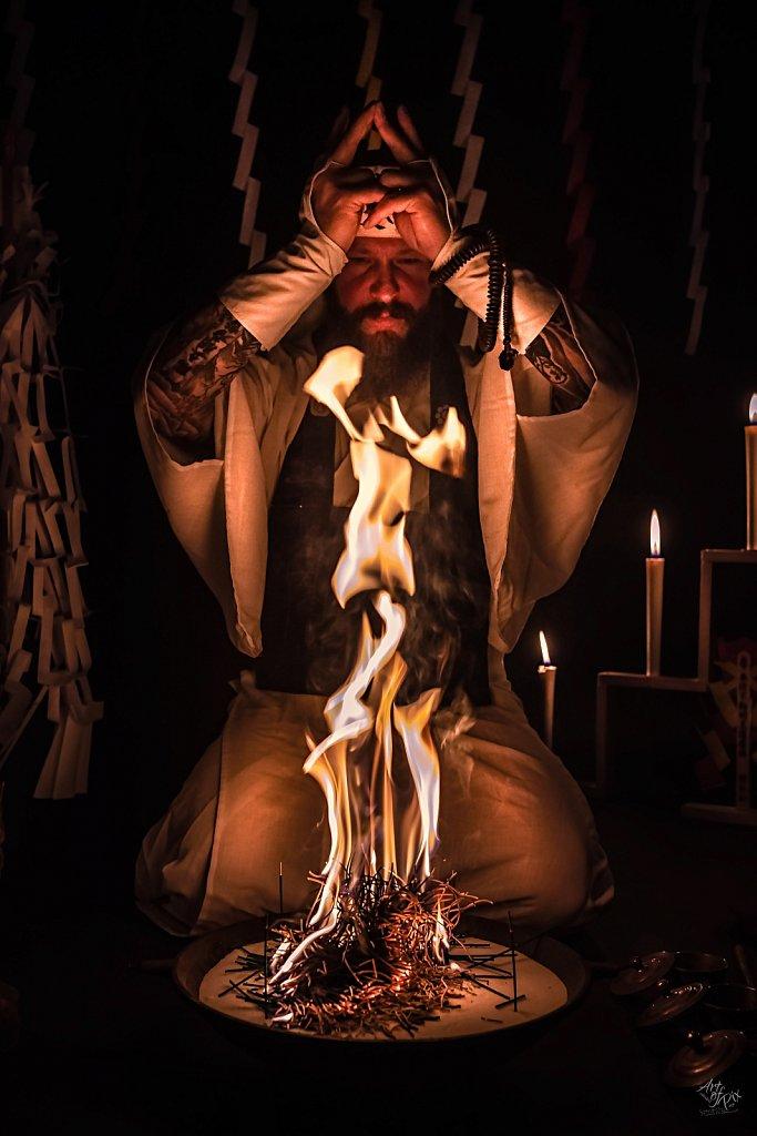 """Fire Ceremony - Goma"""