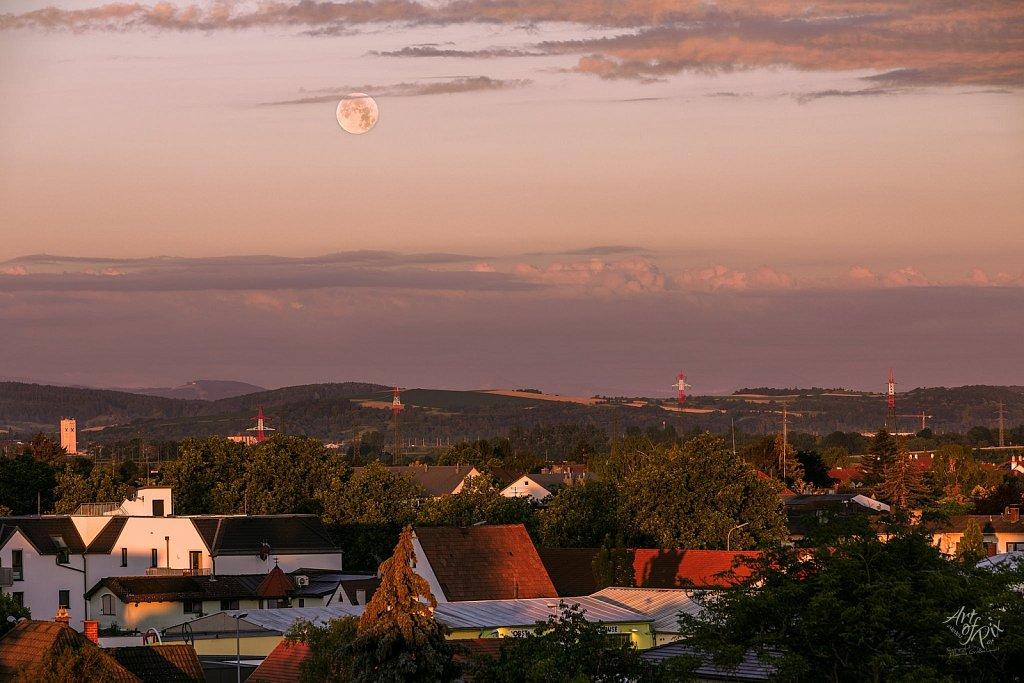 """Morning Moon"""
