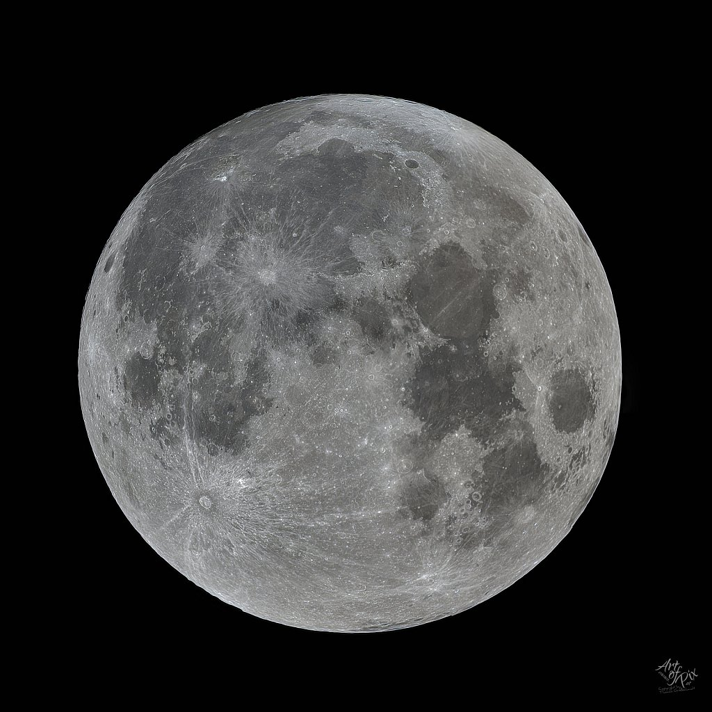 """""""Moon - Black & White"""""""