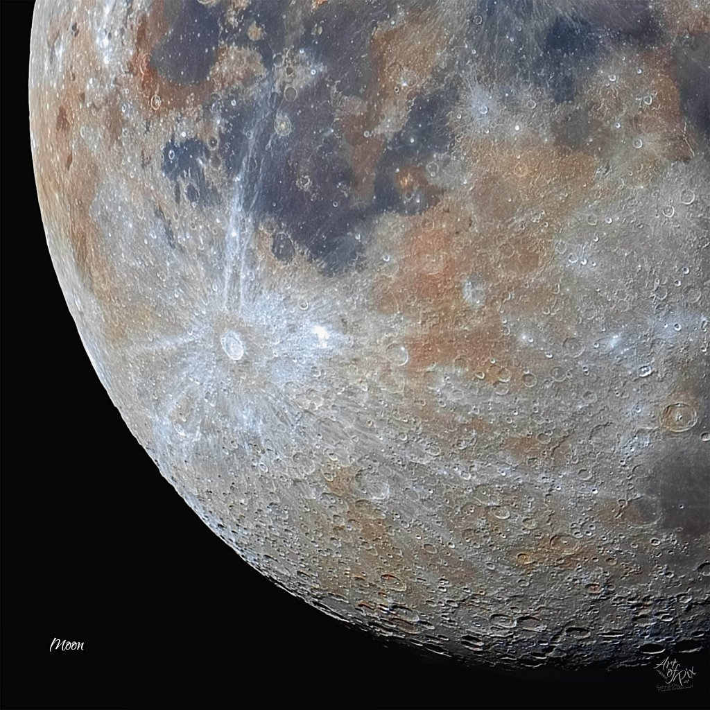 """""""Zoom to the moon"""" Part X - Mineral Moon"""